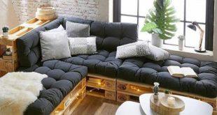 Fantastic wood pallet sofa ideas
