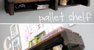 25 schöne billige Paletten DIY Storage-Projekte mit Leichtigkeit zu realisieren...