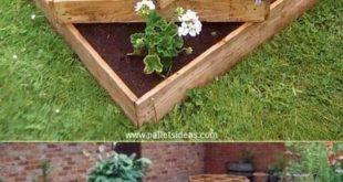 40+ Attractive Garden Ideas With Pallets