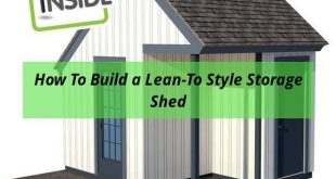 6x8 shed roof plans. #shedplans #diyshed #shedexterior #diyprojects