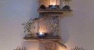 Rustikale Palettenregale aus wiederverwertetem Holz - #aus #dekoration #Holz #Pa...