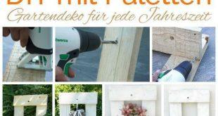 Twercs | DIY mit Paletten. Gartendekoration Basteln mit Paletten. Twercs DIY. Ga...