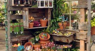 30 Geniale Möglichkeiten zur Verwendung von Paletten in Ihrem Garten