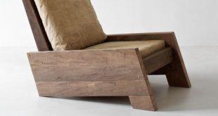 Asientos de madera con mucho diseño