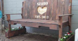 Custom Pallet Bench / Porch Swing Made to Order (Indoor/Outdoor)