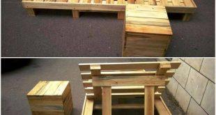 Paletten Lounge Chair / Palettenliege – 45 Einfachste DIY Projek › 25 +