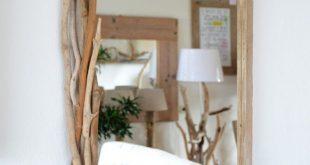 Spiegel aus Treibholz für den perfekten von manunatura auf Etsy