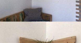 Very Beautiful Diy Wooden Pallets Corner Shelf Fresh Idea