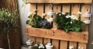 Möchtest du deinen Garten etwas verschönern? Vielleicht sind diese 9 Paletten Garten-Ideen wohl etwas für dich! - Seite 7 von 9 - DIY Bastelideen -... - Veronica
