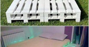 25 DIY Recycling-Holzpaletten-Projekte Probieren Sie Zuhause aus