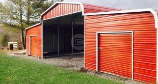 48×31 Step-Down Roof Barn