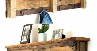 A work done well by crafting wood pallet shelf. Re-transform wood pallets to mak...