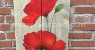 Bildergebnis für Palettenkunstblumen - #Art #de #flowers #image #Pallet ... - ...