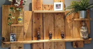 Building Pallet Wall Shelves with DIY Ideas – Sensod – Create. Connect. Brand