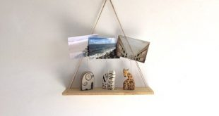 COAST | Hanging Pallet Shelf, Rustic Decor, Beach Decor, Reclaimed Wood, Home Decor, Furniture, Book