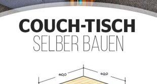 Couch-Tisch selber bauen