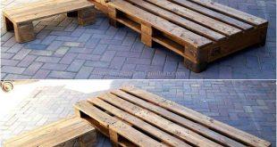 Creative Pallet Recycling Ideas von Lucie´s Palettenmöbel #creative #ideas #l...