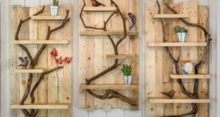 Diy Wood Pallet Shelf Etsy 55+ Ideas For 2019 - DIY Babies-Todds Dress-Winter ...