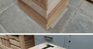 Innovative Pallet storage box project ideas