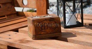 Pallet Bench & Chair Garden Set