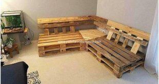 Pallet Corner Couch #dekoration #schlafzimmer #wohnzimmerideen #inneneinrichtung...
