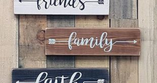 Personalized Arrow Word Wood Signs | Custom Arrow Signs | Arttowngifts