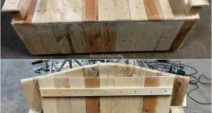 Projekte mit Holzpaletten 13 - #europaletten #Holzpaletten #mit #Projekte