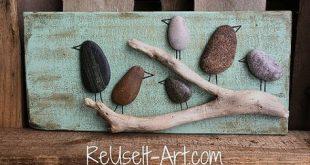 ReUse It Art ™ -Handwerk und Upcycling-Holzpaletten für atemberaubende Wanddekoration … #WoodWorking