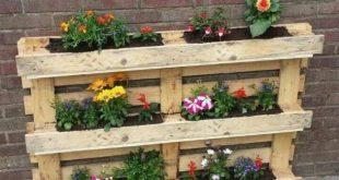 Recyceln wiederverwenden und reduzieren: Vertikale Gärten mit Paletten