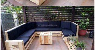 So verwenden Sie Holzpaletten für den fantastischen Look Ihres Hauses - - #diy...