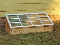 This sturdy cold frame is easy to disassemble and store during warmer months bu