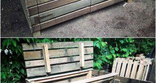 Umnutzung von Projekten für gebrauchte alte Paletten aus Holz