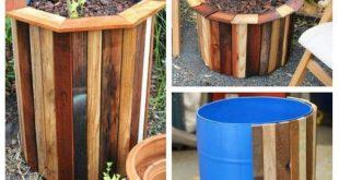 Upcycled Palettenpflanzer Ideen